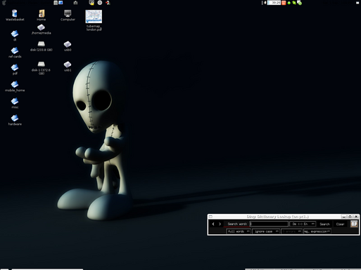 My current desktop - GNOME on DebianGNU/Linux